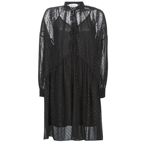 Clothing Women Short Dresses Replay W9525-000-83494-098 Black
