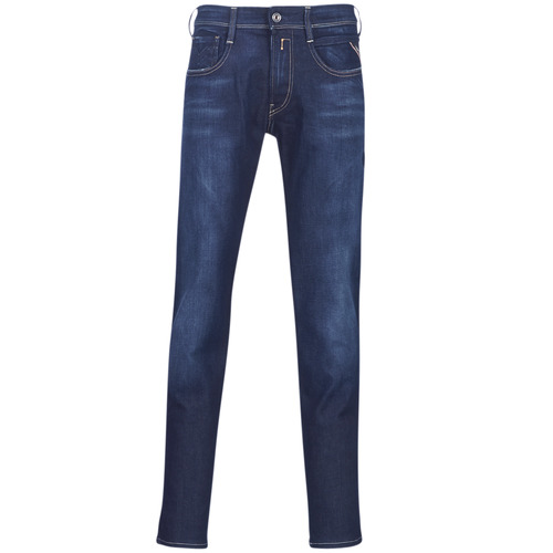 Clothing Men slim jeans Replay ANBASS Blue / Medium / 009