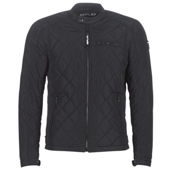 Clothing Men Jackets Replay M8000-000-33110-098 Black