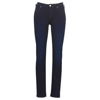 Clothing Women straight jeans Lee MARION STRAIGHT DARK MULBERRY Blue