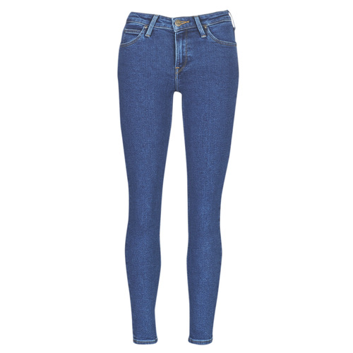 Clothing Women slim jeans Lee SCARLETT STONE MILTONA Blue