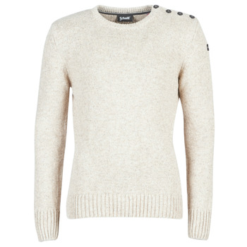 Clothing Men jumpers Schott PLOUTRIDER1 Beige