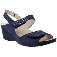Shoes Women Sandals Nordikas 1220 Sandalias Casual con Cuña de Mujer blue