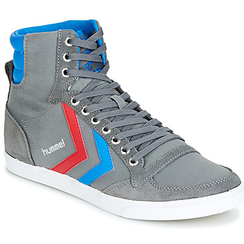 Shoes Hi top trainers Hummel HUMMEL SLIMMER STADIL HIGH Grey