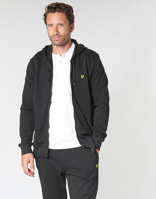 Clothing Men sweaters Lyle & Scott ML420VTR-574 Black