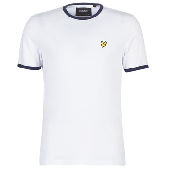 Clothing Men Short-sleeved t-shirts Lyle & Scott TS705V-Z660 White