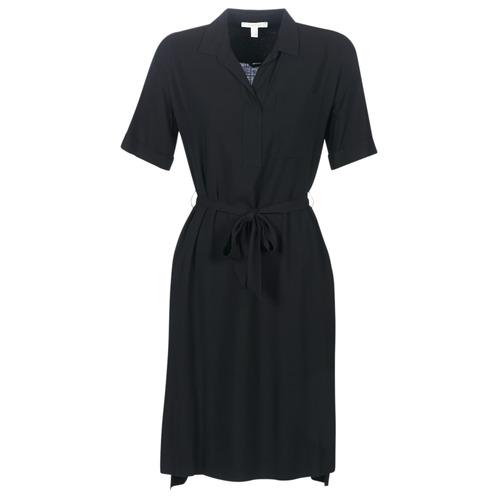 Clothing Women Short Dresses Esprit 079EE1E011-003 Black