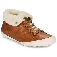 Shoes Women Hi top trainers PLDM by Palladium GAETANE Camel