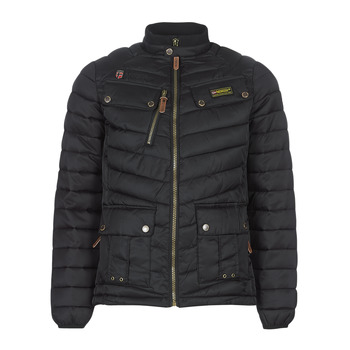 Clothing Men Parkas Geographical Norway ARIE-NOIR Black