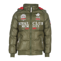 Clothing Men Duffel coats Geographical Norway AVALANCHE-KAKI Kaki
