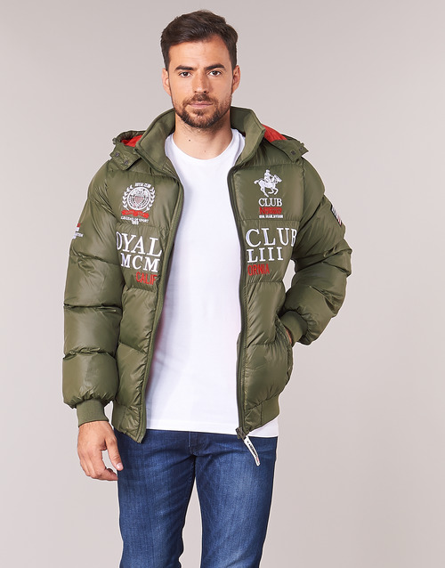 Clothing Men Duffel coats Geographical Norway AVALANCHE-KAKI Kaki