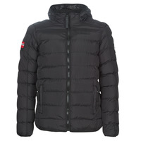 Clothing Men Duffel coats Geographical Norway BALANCE-NOIR Black