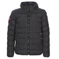 Clothing Men Duffel coats Geographical Norway BALANCE-NOIR Black