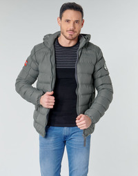 Clothing Men Duffel coats Geographical Norway BALANCE-GRIS-FONCE Grey