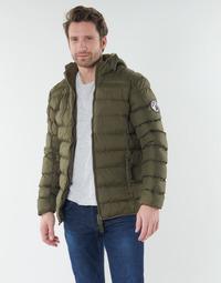 Clothing Men Duffel coats Geographical Norway BALANCE-KAKI Kaki