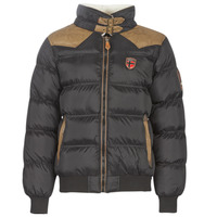 Clothing Men Parkas Geographical Norway ABRAMOVITCH-NOIR Black