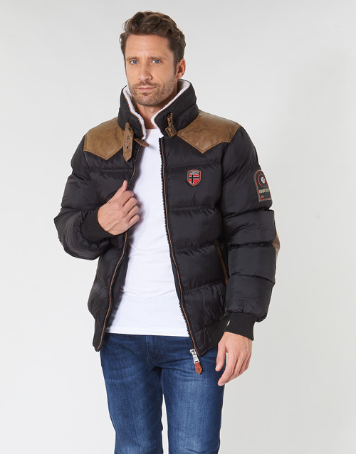 Clothing Men Duffel coats Geographical Norway ABRAMOVITCH-NOIR Black