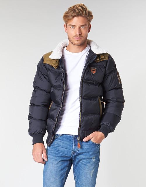 Clothing Men Duffel coats Geographical Norway ABRAMOVITCH-MARINE Marine