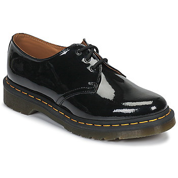 Shoes Women Derby Shoes Dr Martens 1461 3 EYE SHOE Black Patent