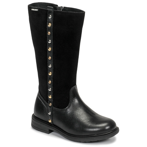 Shoes Girl High boots Pablosky 475812 Black
