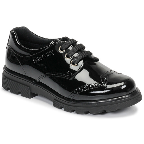 Shoes Girl Derby Shoes Pablosky 335419 Black