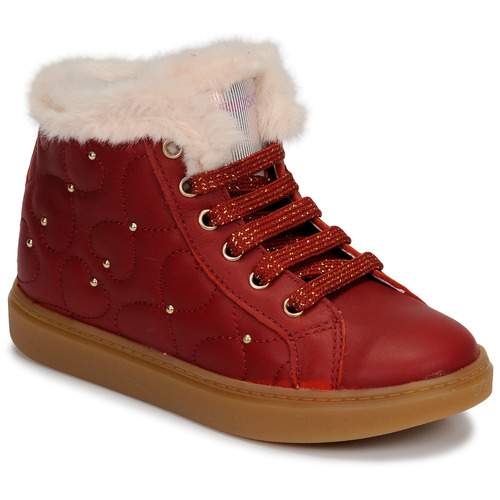 Shoes Girl Hi top trainers Pablosky 476362 Red