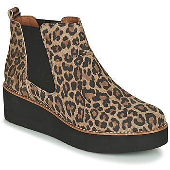 Shoes Women Mid boots Fericelli LORNA Brown