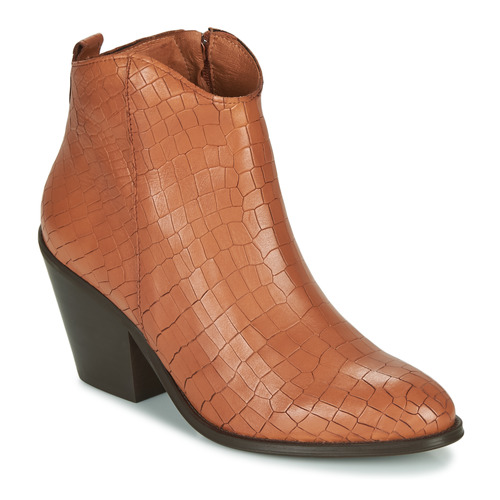 Shoes Women Ankle boots Fericelli LISA Brown