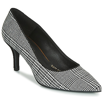 Shoes Women Heels Fericelli LUCINDA Black / White