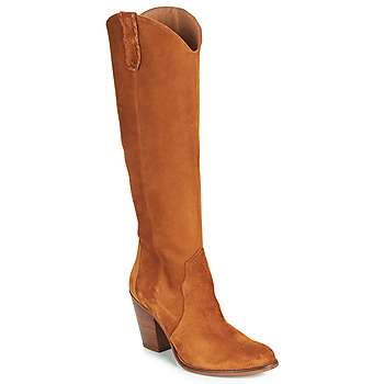 Shoes Women High boots Fericelli LUNIPIOLLE Camel