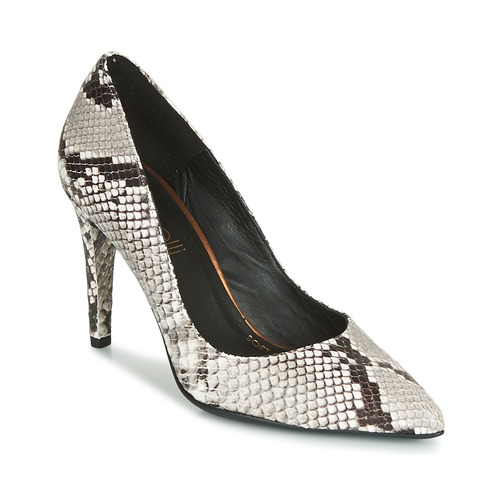 Shoes Women Heels Fericelli LARA White / Black / Grey