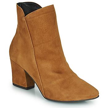 Shoes Women Ankle boots Fericelli JORDENONE Camel