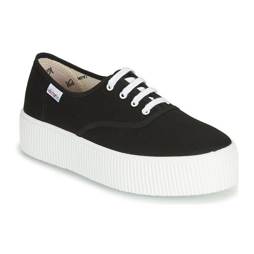 Shoes Women Low top trainers Victoria 1915 DOBLE LONA Black