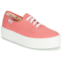 Shoes Women Low top trainers Victoria 1915 DOBLE LONA Nude