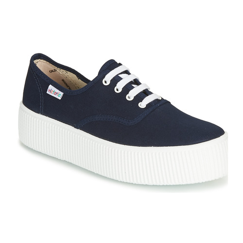Shoes Women Low top trainers Victoria 1915 DOBLE LONA Marine