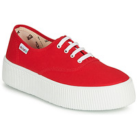 Shoes Women Low top trainers Victoria 1915 DOBLE LONA Red