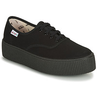 Shoes Women Low top trainers Victoria 1915 DOBLE LONA PISO NEG Black