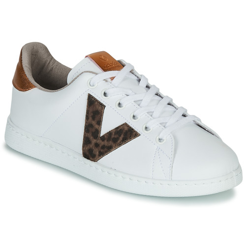 Shoes Women Low top trainers Victoria TENS PRINT White