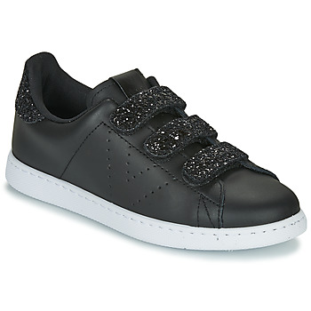 Shoes Women Low top trainers Victoria TENIS VELCRO Black