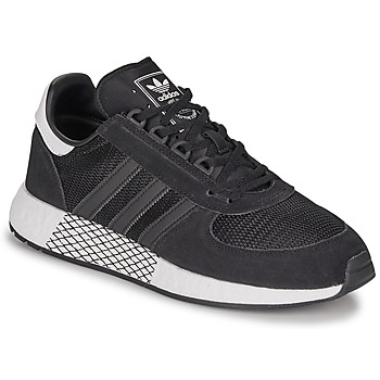 Shoes Men Low top trainers adidas Originals MARATHON TECH Black