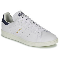 Shoes Low top trainers adidas Originals STAN SMITH White / Blue
