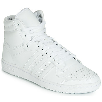 Shoes Men Hi top trainers adidas Originals TOP TEN HI White