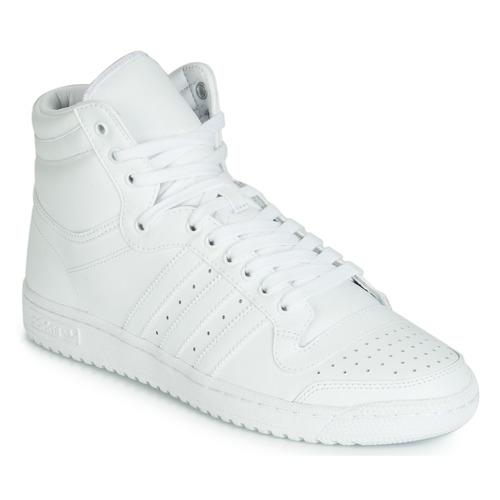 Shoes Men Hi top trainers adidas Originals TOP TEN HI White