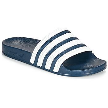 Shoes Tap-dancing adidas Originals ADILETTE Blue / White