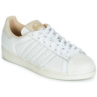 Shoes Low top trainers adidas Originals SUPERSTAR White / Beige