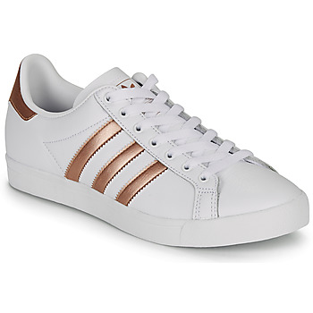 Shoes Women Low top trainers adidas Originals COAST STAR W White / Bronze