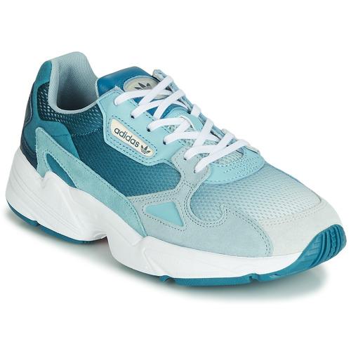 Shoes Women Low top trainers adidas Originals FALCON W Blue
