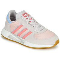 Shoes Women Low top trainers adidas Originals MARATHON TECH W Grey / Pink