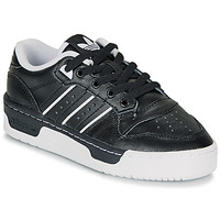 Shoes Children Low top trainers adidas Originals RIVALRY LOW J Black