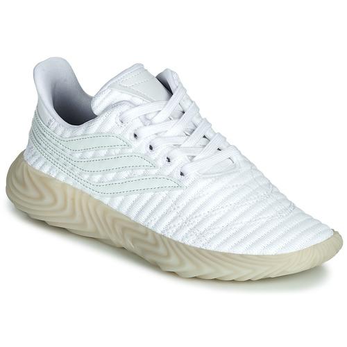 Shoes Boy Low top trainers adidas Originals SOBAKOV J White